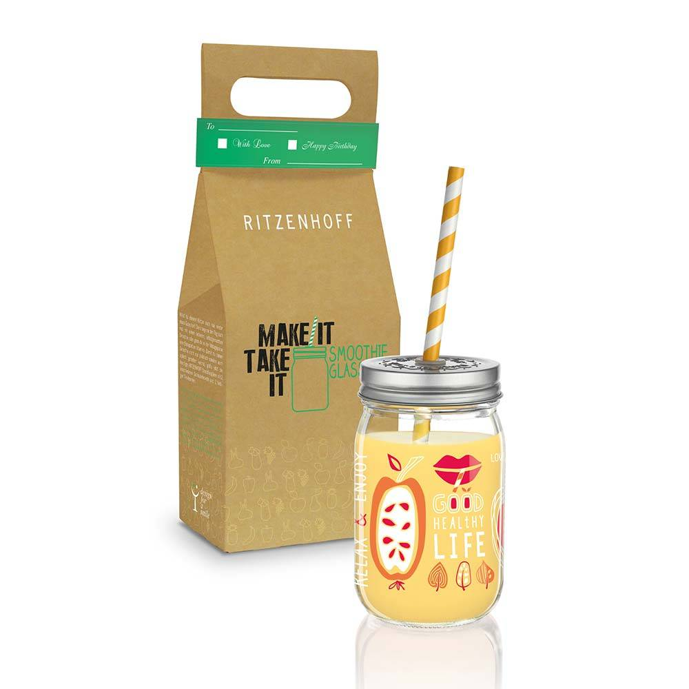 Ritzenhoff Make It Take It Smoothie Muki 45cl, Shalev