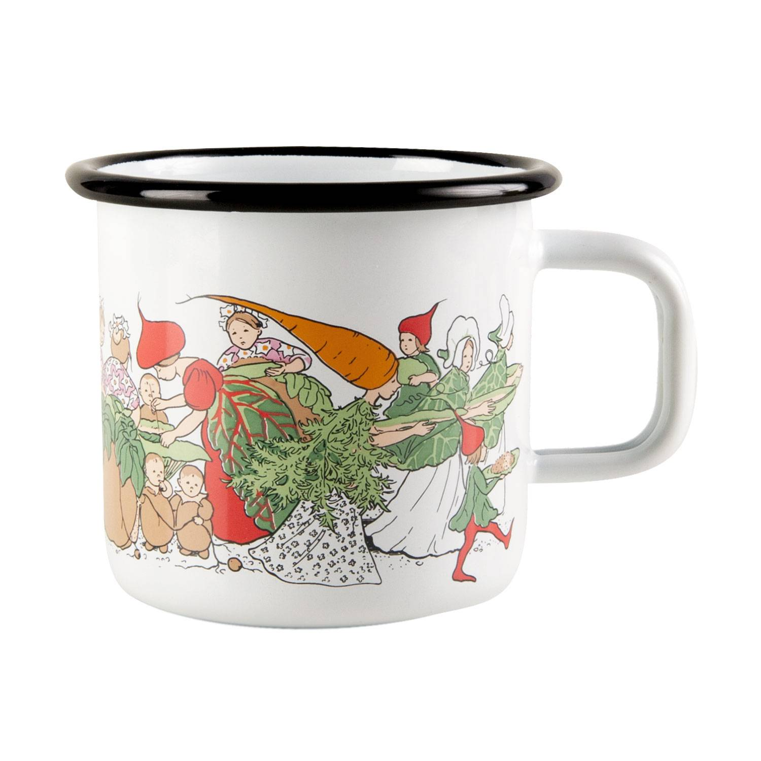 Muurla Elsa Beskow Vegetable Garden Muki 37cl