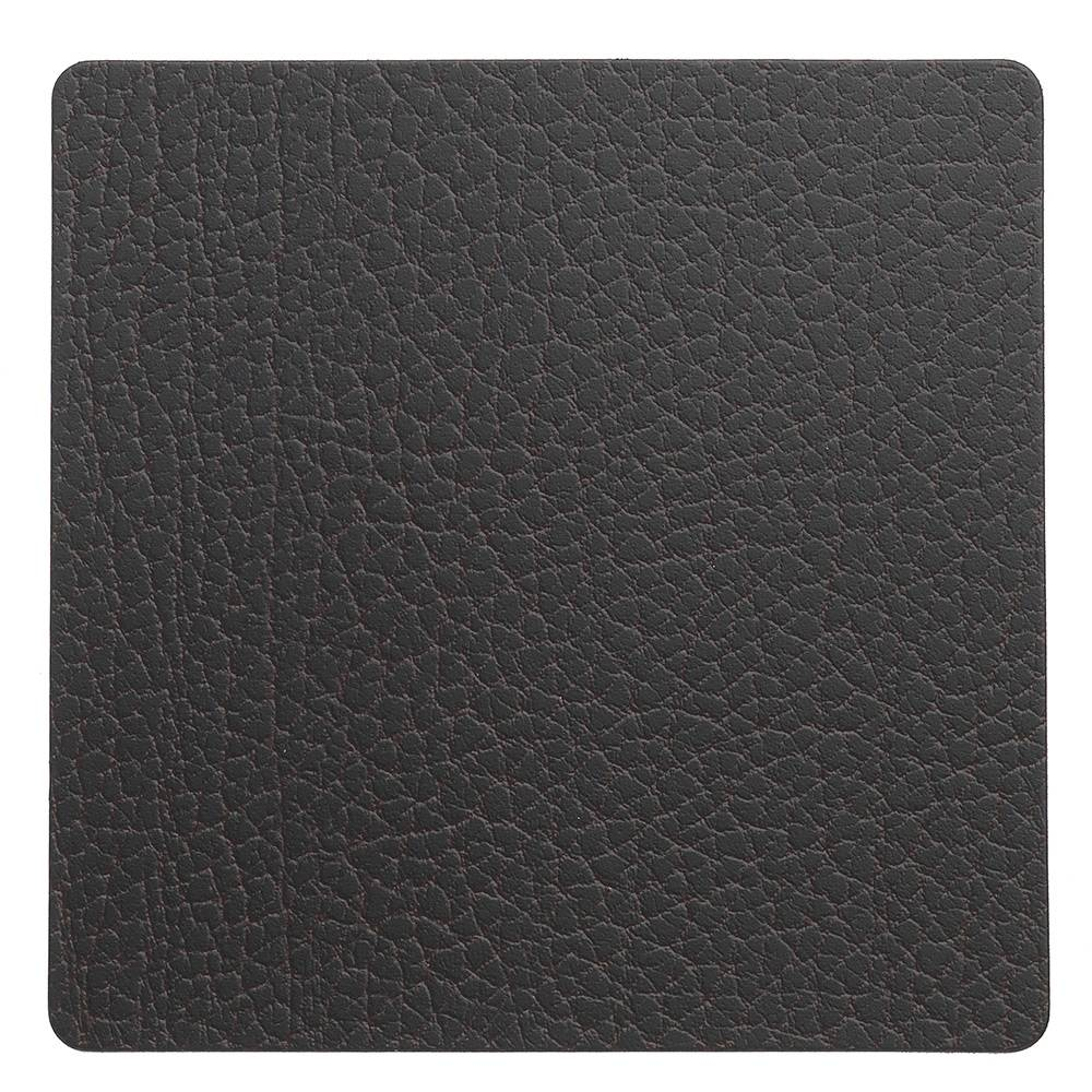 Lind DNA Square Lasinalunen 10x10cm, Bull Brown