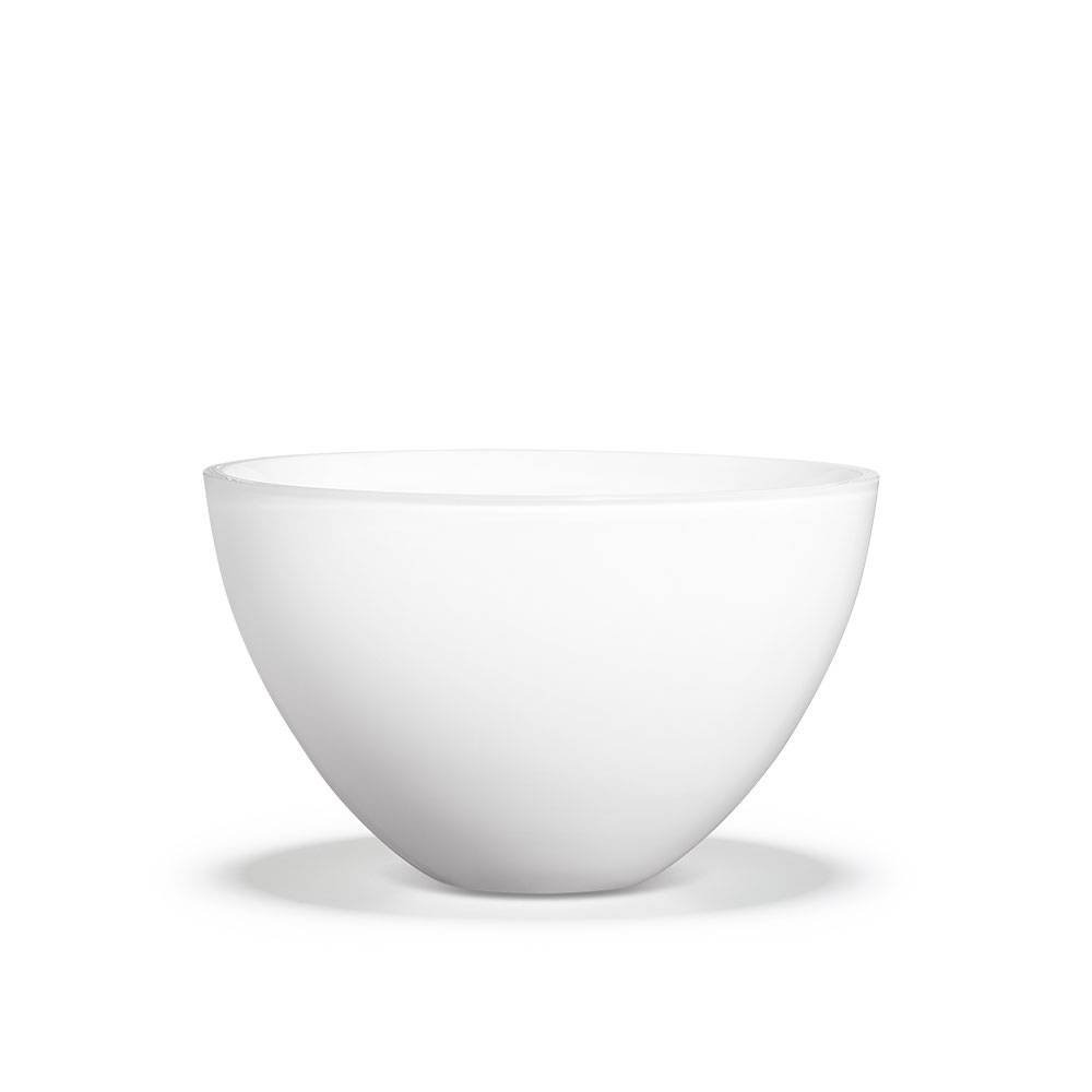 Holmegaard Cocoon Bowl, Small, White