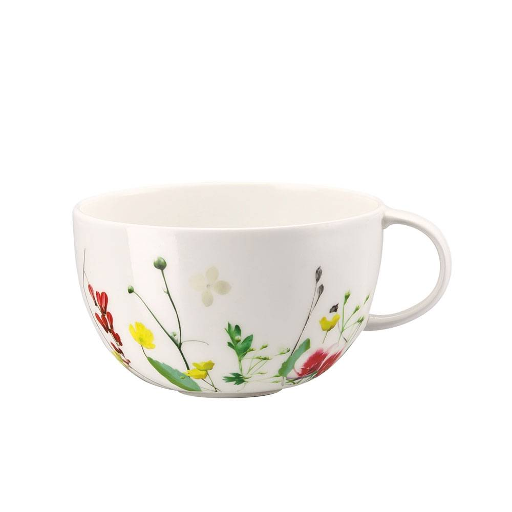 Rosenthal Brillance Fleurs Sauvages Tee-/Cappuccinokuppi 25 cl.