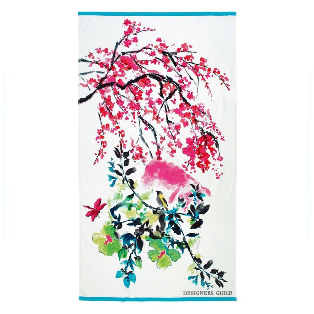 Designers Guild Chinoiserie Peony Kylpypyyhe 100x180cm