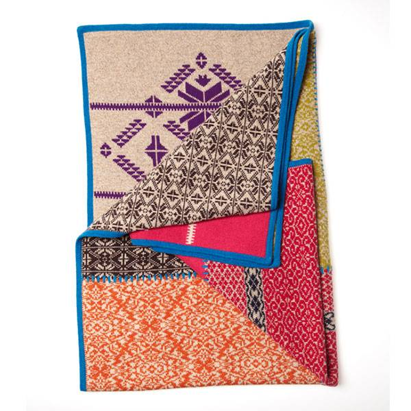 Odd Molly Home Patchwork Huopa, 155x135 cm, Mix