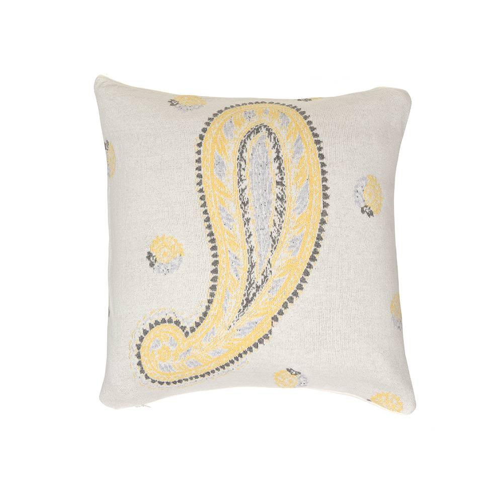 Simply Scandinavian Folklore Knit Tyyny 50x50cm, Clouded Yellow