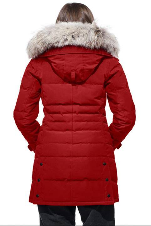 Canada Goose Lorette Parka Red Wood S