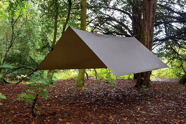 DD Hammocks Superlight Tarp Ruskea