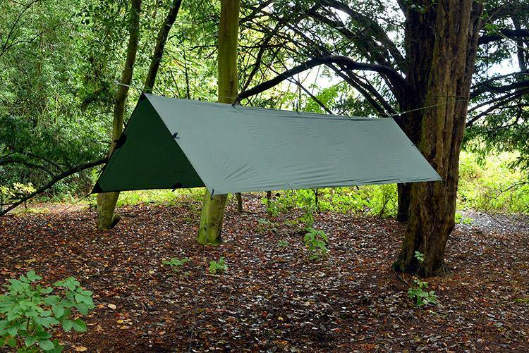 DD Hammocks Superlight Tarp S Vihreä