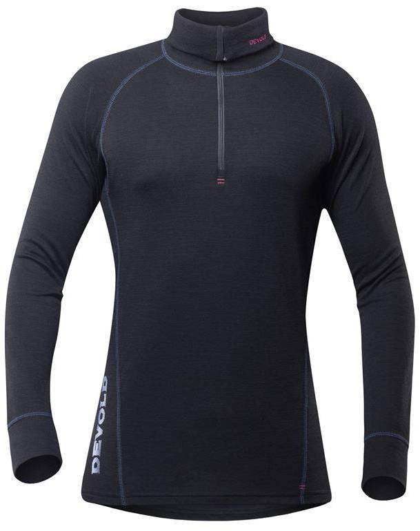 Devold Duo Active Zip Neck Men Musta M