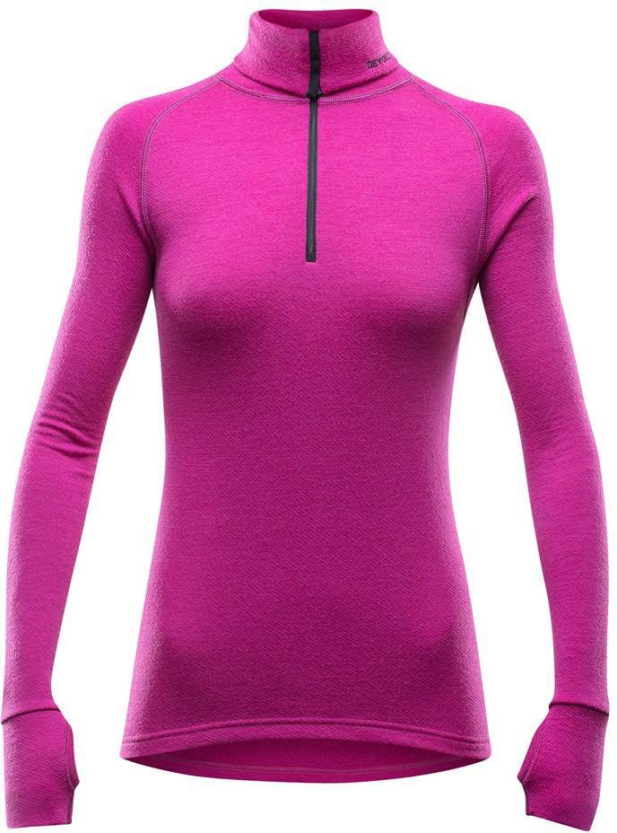 Devold Expedition Lady Zip Neck Fuksia M
