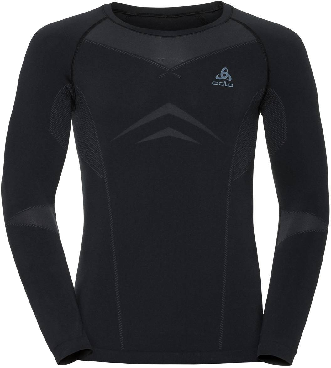 Odlo Evolution Light Long Sleeve Crew Musta L
