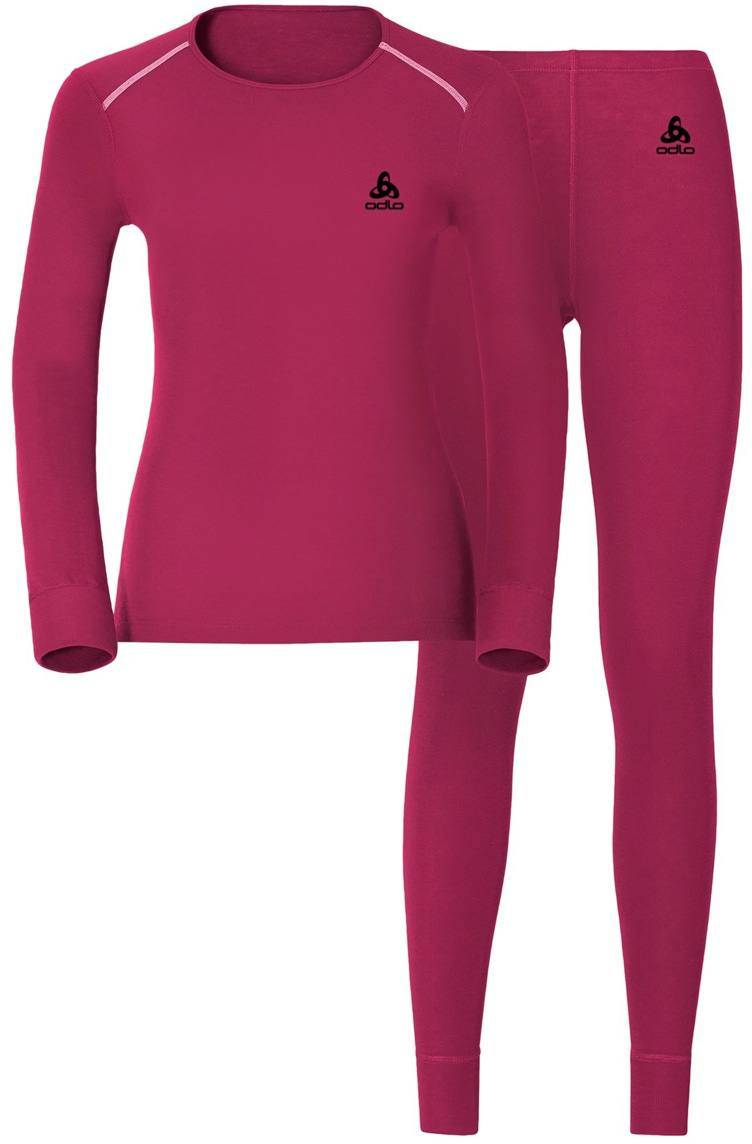 Odlo Warm Set Women Sangria XS
