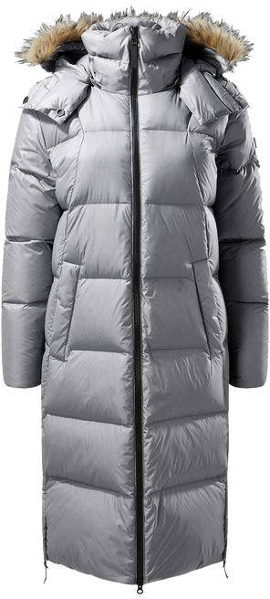 Wolfskin Tech Lab The Great Lakes Coat Pink Rose L