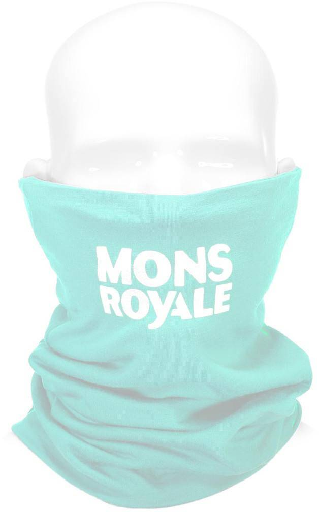 Mons Royale Double Up Neckwarmer Lime