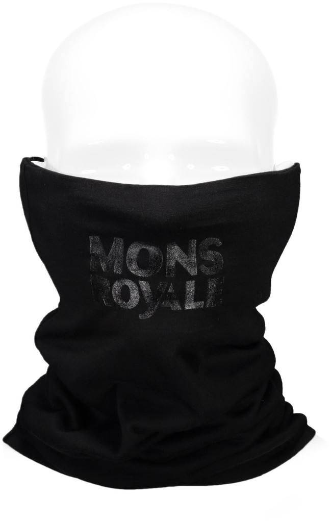 Mons Royale Double Up Neckwarmer Musta