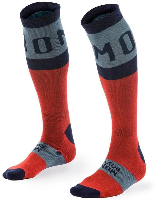 Mons Royale Lift Access Sock Navy/Flame S