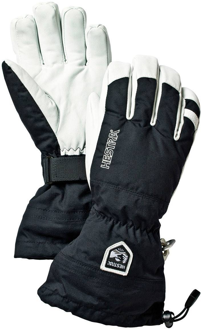 Hestra Army Leather Heli Ski Glove Musta 10