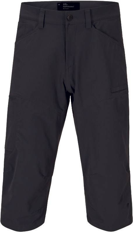 Peak Performance Method 3/4 Pant Musta XXL