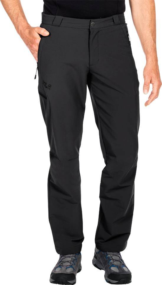 Jack Wolfskin Activate Thermic Pants Musta 48