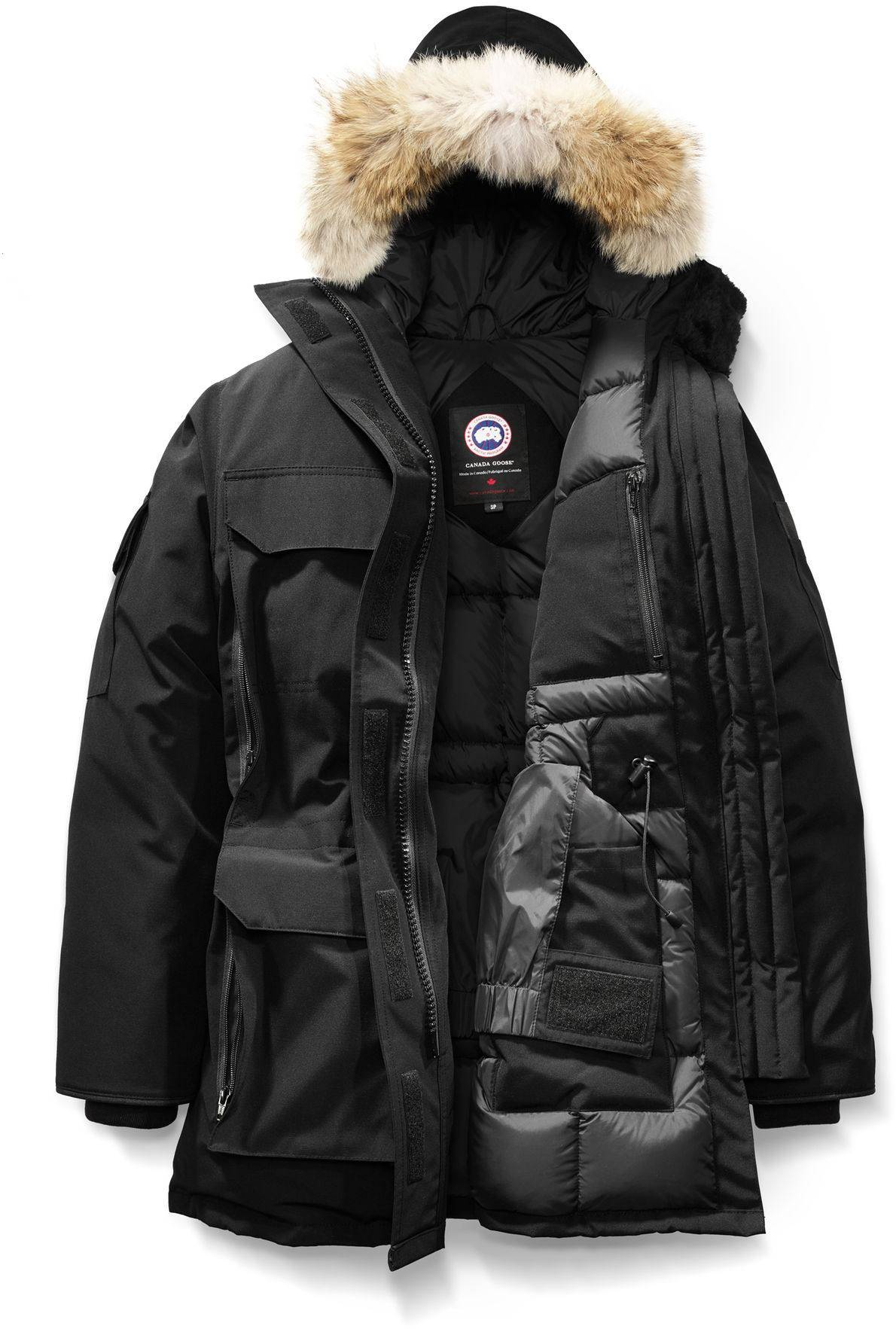 Canada Goose Expedition lady parka musta L