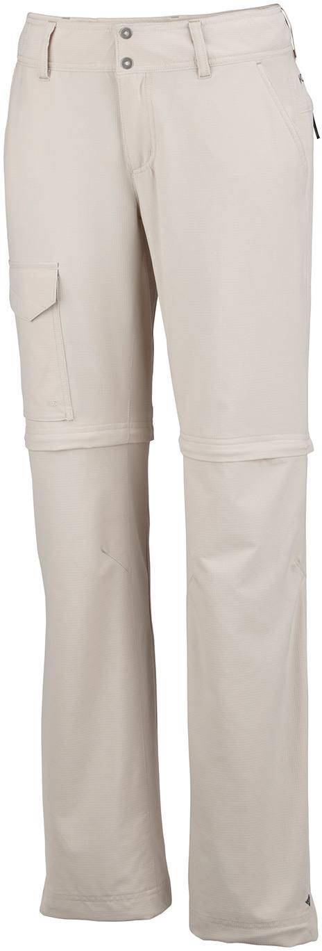 Columbia Silver Ridge Convertible Pant Womens Fossil 10