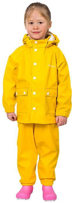 Tretorn Kids Wings Raincoat Keltainen 140
