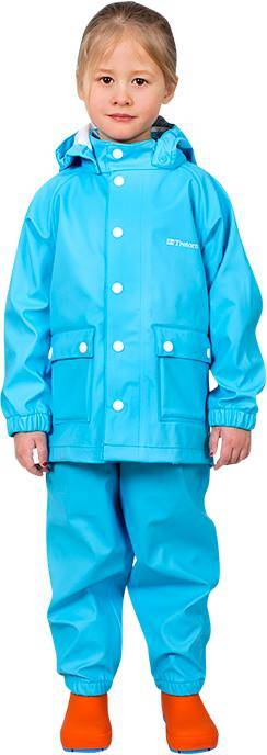 Tretorn Kids Wings Raincoat aqua 164