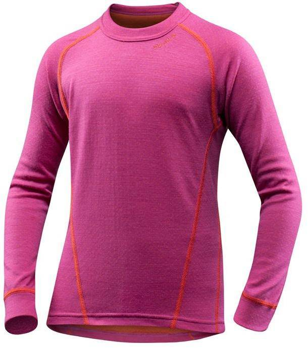 Devold Active Kid Shirt Fuksia 8