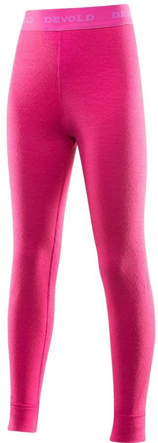 Devold Duo Active Junior Long Johns Pink 10