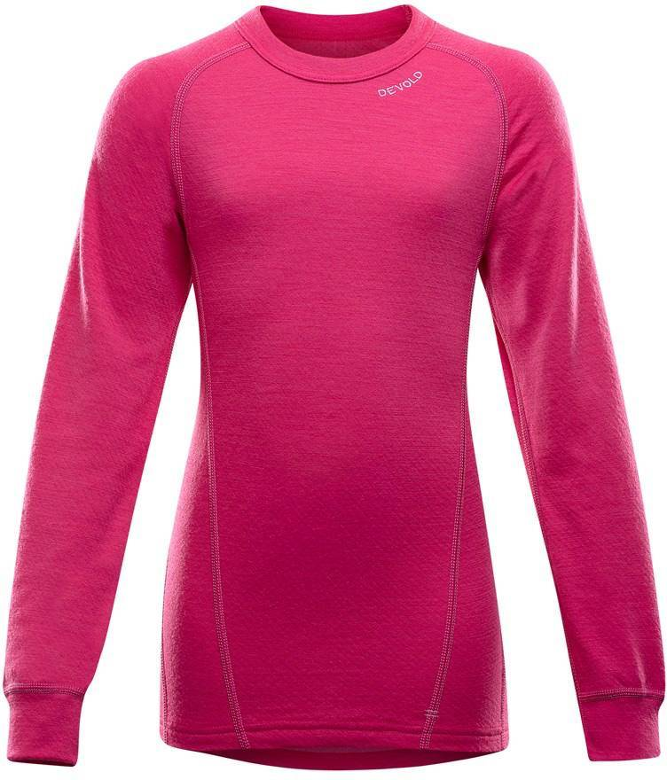 Devold Duo Active Junior Shirt Pink 10