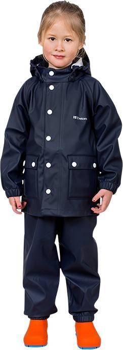 Tretorn Kids Wings Raincoat Navy 116