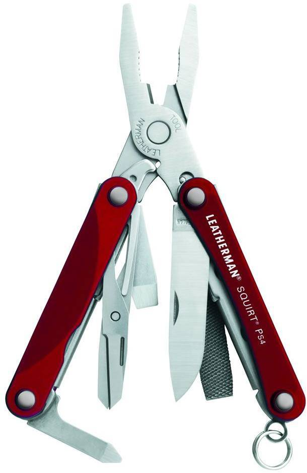 Leatherman Squirt PS4 Punainen