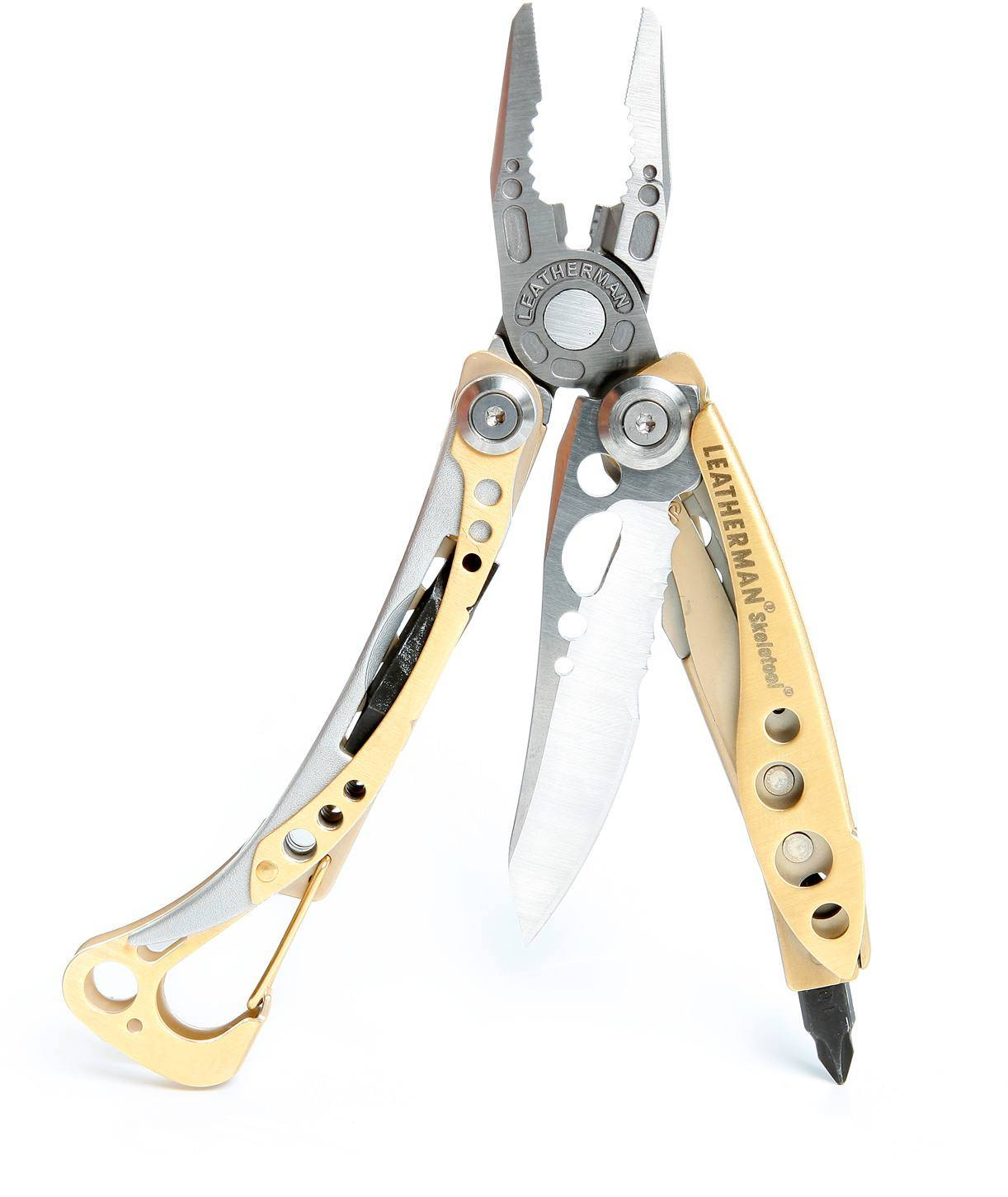 Leatherman Skeletool Kullattu