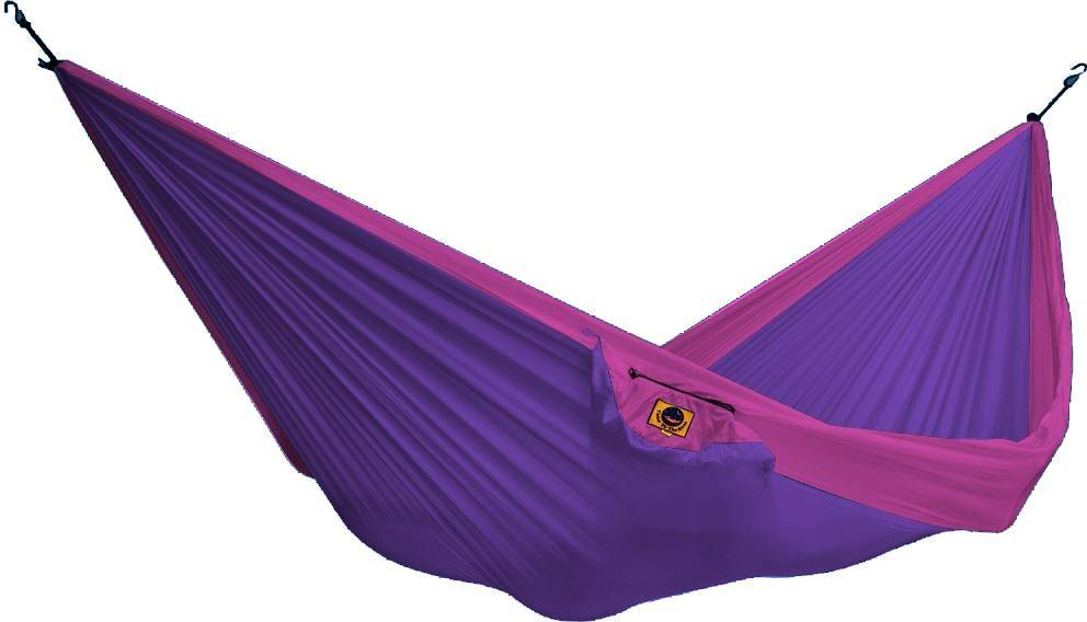 Ticket To The Moon Hammock Double Lila/pinkki
