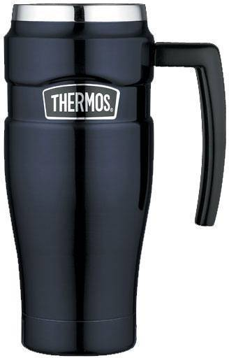 Thermos Stainless King 0,47 Musta