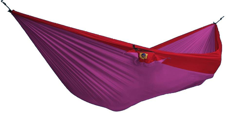 Ticket To The Moon Hammock Double Pinkki/punainen