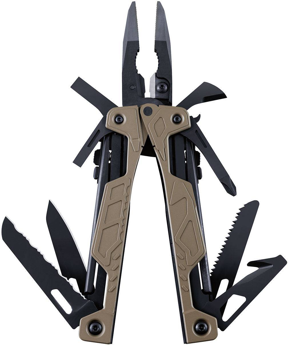Leatherman OHT Ruskea
