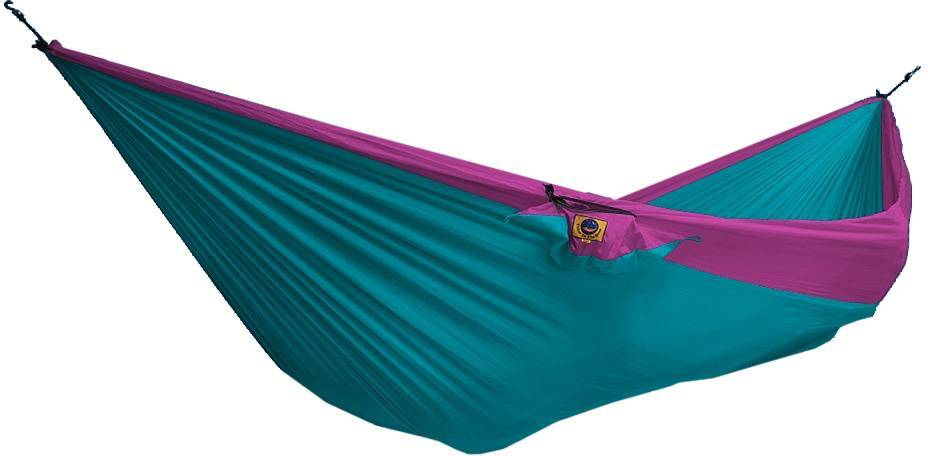 Ticket To The Moon Hammock Double Turkoosi/pinkki