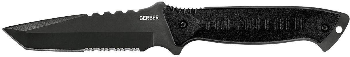 Gerber Warrant Tanto, Black, Camo Sheath