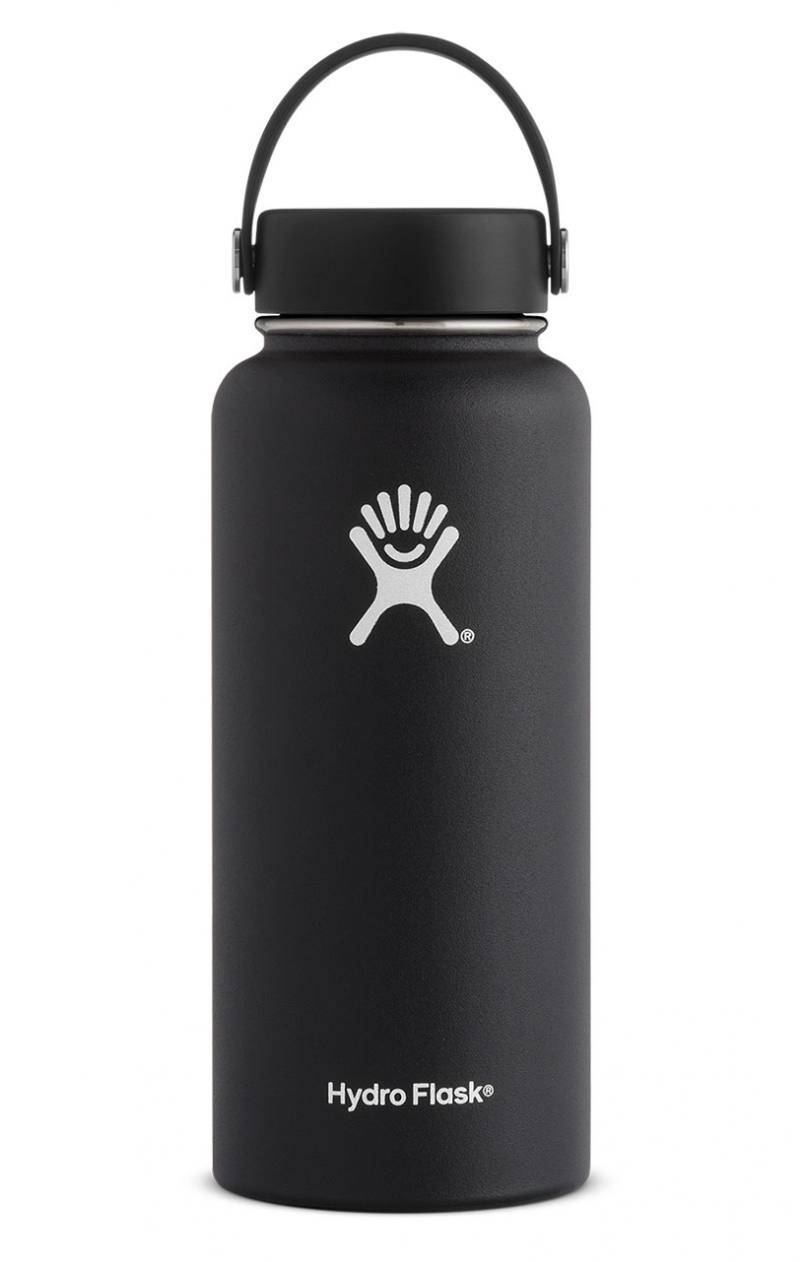 Hydro Flask 32 Oz Wide Mouth Flex Cap Musta