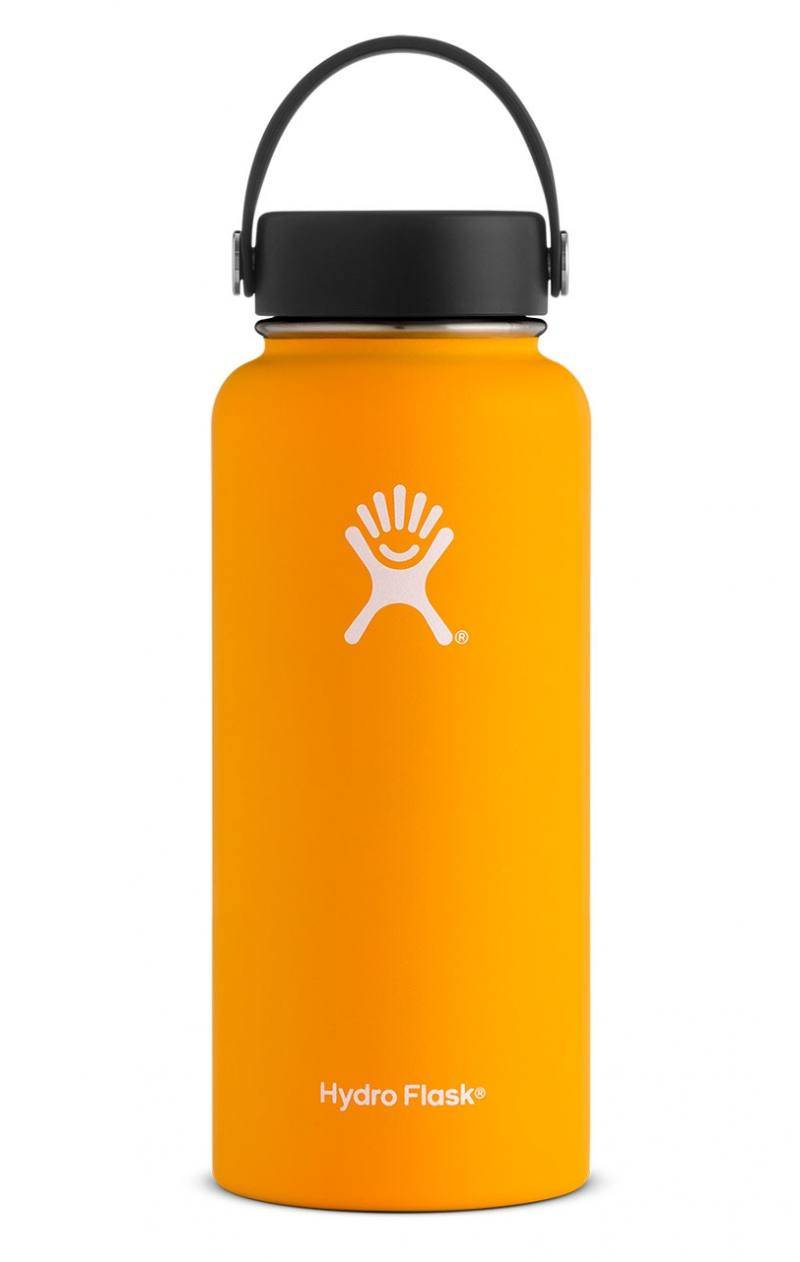 Hydro Flask 32 Oz Wide Mouth Flex Cap Mango