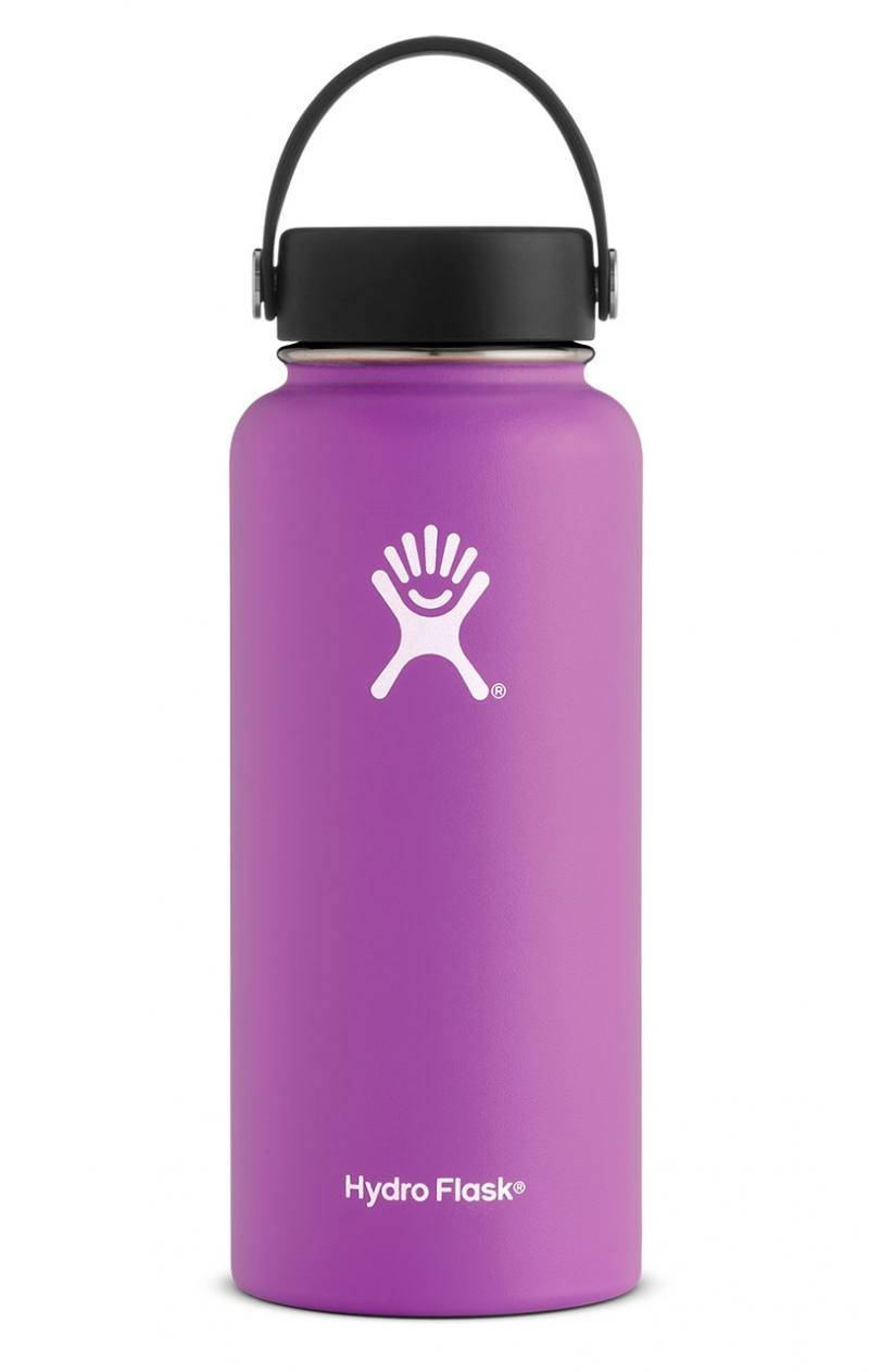 Hydro Flask 32 Oz Wide Mouth Flex Cap Raspberry