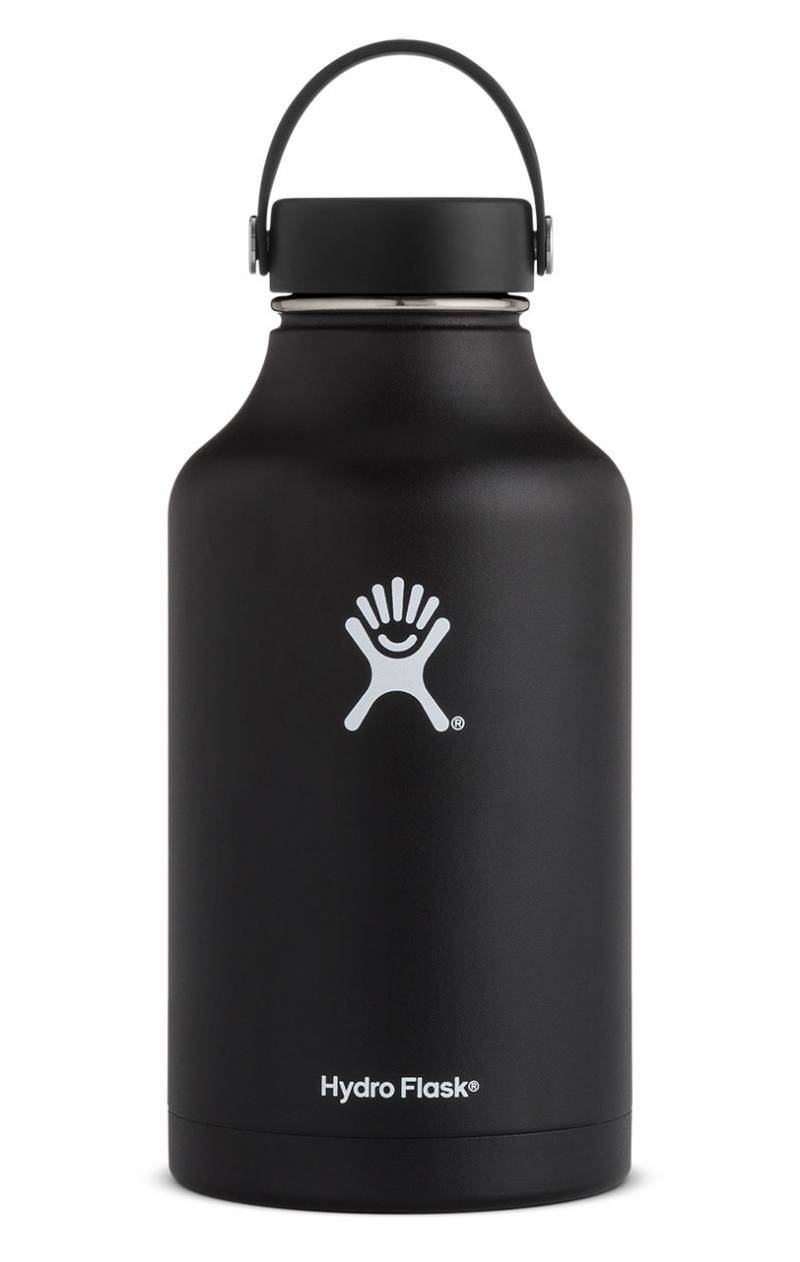 Hydro Flask 64 Oz Wide Mouth Flex Cap Musta