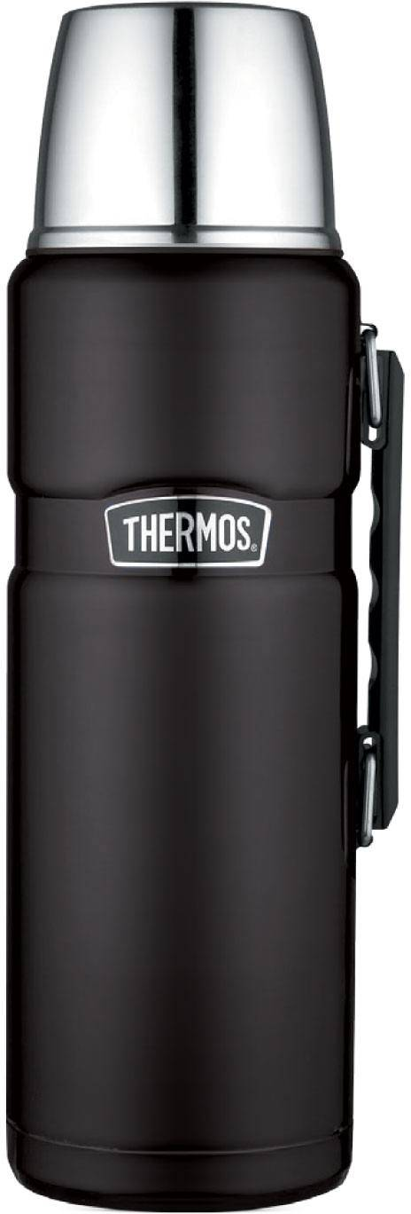 Thermos Stainless King 2,0L Musta