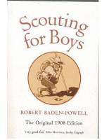 Partiotuote Scouting for Boys