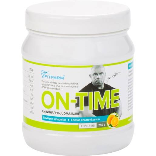 FitFarm On-time (intra), aminohappojuoma