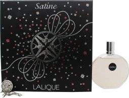Lalique Satine Gift Set 100ml EDP + Necklace