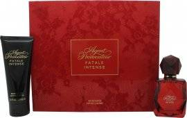 Agent Provocateur Fatale Intense Gift Set 50ml EDP Spray + 100ml Body Lotion