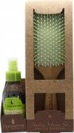 Macadamia Natural Oil Gift Set 125ml Healing Oil Spray + Oil Infused Brush