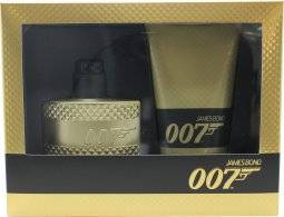 James Bond 007 Gold Gift Set 50ml EDT Spray + 150ml Shower Gel