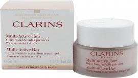 Clarins Multi-Active Day Early Wrinkle Correction Cream-Gel 50ml - Dry Skin